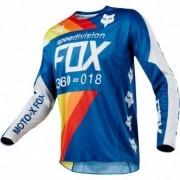 FOX Jersey FOX 360 2018 Draftr Blue