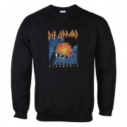 sweat-shirt sans capuche pour hommes Def Leppard - Pyromania - LOW FREQUENCY - DLSW08033
