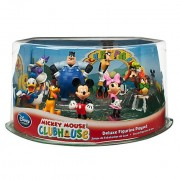 Disney Store Mickey Mouse Clubhouse Play Set: Deluxe 9 Pc. PVC Figurine Toy Playset