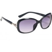 Ted Smith Over-sized Sunglasses(Blue)