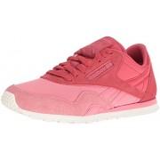 Reebok Women s CL Nylon Slim Candy Girl Fashion Sneaker Moody Pink/Tuscan Clay/Ch 9 B(M) US