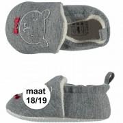 Apollo Geboorte kado jongetje baby slofjes met beer maat 18/19