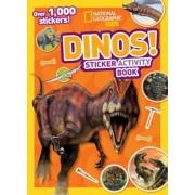 Dinos Sticker Activity Book [With Sticker(s)], Paperback