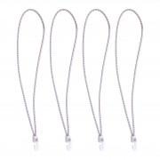 Seilflechter Sailbinder avec crochets en nylon, 4 dans le sac, 35cm, blanc SF_199335