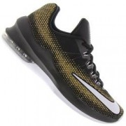 Nike Tênis Nike Air Max Infuriate Low - Masculino - PRETO/OURO