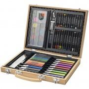 Merkloos 67-delige potloodset / potloden koffer