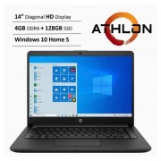 Notebook Hp 14DK1003DX 14″ AMD ATHLON 4Gb SSD 128Gb - SILVER