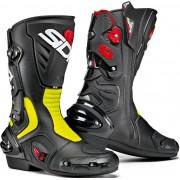 Sidi Vertigo 2 Motorcycle Boots Botas de moto Negro Amarillo 46