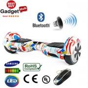 "6.5"" Graffiti Bluetooth Segway Hoverboard"