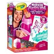 Marker AirBrush Crayola Pulverizator Micul Artist roz