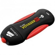 Флаш памет - Corsair Flash Voyager GT USB 3.0 128GB, Read 230MBs - Write 160MBs, Plug and Play - CMFVYGT3B-128GB