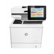 HP Color LaserJet Enterprise Flow MFP M577c, Up to 40 ppm print/copy, 8 touch screen, 7 sec FPOT, 9 sec sleep FPOT, 650 sheets std. input, 2,300 sheets max, fax, stapler, flow features