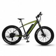 Bicicleta Pegas Fatbike Suprem Dinamic E-bike Negru Mat