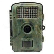 12MP 1080p HD Trail camara de caza de caza con la tarjeta de memoria de 16 GB