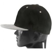 Black Plain Cotton Caps 32