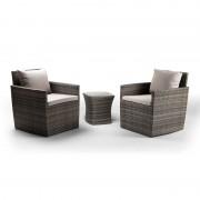 Cielo Lifestyle Cielo - Elora Patio Lounge Set - Brown
