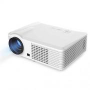 ZHANGJIALI Proyector de Protable STGU BarcoMax PRS200 120W LED proyector de vídeo LCD de Cine en casa/Oficina (Negro) (Color : White)