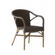 Sika-Design Madeleine café armchair cappuccino, sika-design