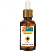Dr. Axez Sunflower Oil (15ML) - Pure Natural For Aromatherapy Body Massage Skin Care Hair ReGrowth