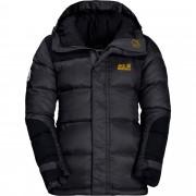 Jack Wolfskin Cook Jacket Kinder Gr. 128 - Winterjacke - schwarz