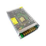 Mean Well RS-100 tápegység , 12 Volt , 100 Watt , 0-8,5A , ipari tokozott kivitel