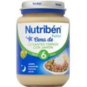 NUTRIBEN CENA GUISANTES CON JAMON 200GR