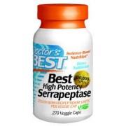 Doctor's Best, Best High Potency Serrapeptase, 120,000 SPUs, 270 Capsule vegetale + TRANSPORT GRATUIT