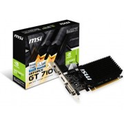 MSI Tarjeta Gráfica nVidia MSI GeForce GT710 2GB DDR3