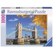 Ravensburger puzzle 1000 pezzi vista sul tower bridge 19637