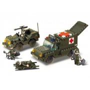 Sluban Bouwstenen Army Serie Ambulance