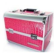 geanta pentru cosmetice profesionala roz