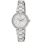 Casio Sheen Analog Silver Dial Womens Watch - SHE-3042D-7AUDR (SX158)