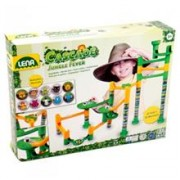 Set De Joaca Labirint De Bile 41 Piese Si 10 Bile Jungle Adventure