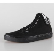 boty VANS - U Authentic Hi 2 - (Zebra) black/black - VUC14KI