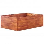 vidaXL Jardinieră de grădină, lemn de acacia, 150 x 100 x 50 cm