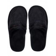 Топли мъжки пантофи - черни