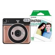 Fuji Instant Camera Instax Mini LiPlay Blush Gold + 1 x 10 shot film pack