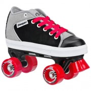 Roller Derby 1355-03 Zinger Boys Roller Skate Black & Gray - 3