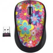 Безжична мишка TRUST Yvi, Wireless, flower power, 20250