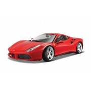 Bburago 1:18 Ferrari 488 GTB Red