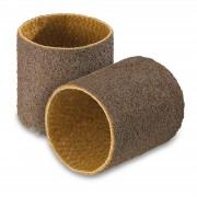 Lot de 2 bandes abrasives - nylon non-tissé - Granulation grossière