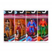 DC Multiverse Aquaman Superman Teen Titan Wonder Woman Figuras Articuladas Pack 4