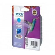 Tinteiro Original Epson T0802 Azul