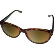Kenneth Cole Retro Square Sunglasses(Grey)