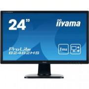 Iiyama LED monitor Iiyama ProLite B2482HS, 61 cm (24 palec),1920 x 1080 px 1 ms, TN LED HDMI™, VGA, DVI, audio, stereo (jack 3,5 mm)