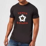 Football Camiseta Fútbol España Vamos España - Hombre - Negro - S - Negro