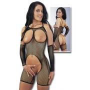 Sieťkový catsuit - 232319