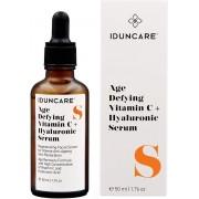 IDUNCARE Vitamine C Serum met Hyaluronzuur | Gezichtsserum Voor Intensieve Anti Aging & Anti Rimpel Huidverzorging | Hoge dosering 20% Vitamine C, Hyaluron & Collageen | 50 ML