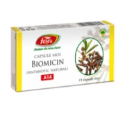 BIOMICIN (ANTIBIOTIC NATURAL)- A14, - 15 capsule moi