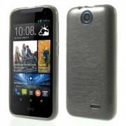 Силиконов гръб за HTC Desire 310 - сив